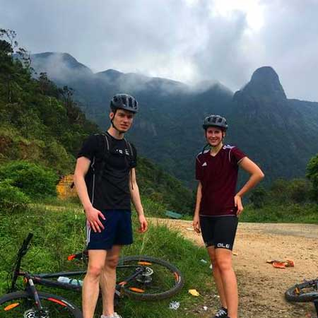 Cycling around Knuckles mountain range