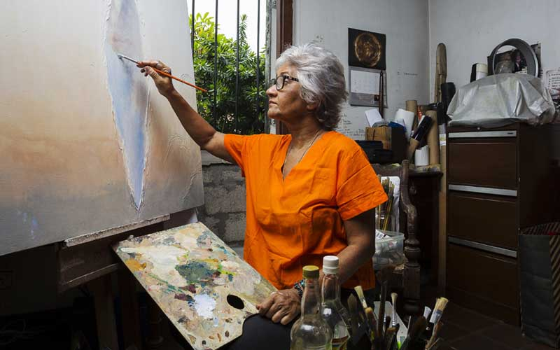 Artists home in Colombo | Sri Lanka Artists meet