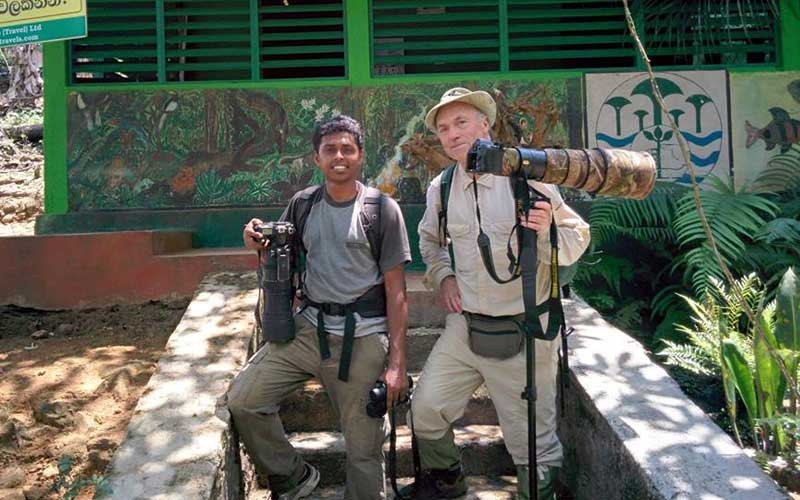 Bird watching and trekking in Kitulgala