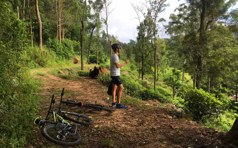 Cycling in Hantana, Cycling in Kandy