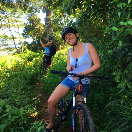 Cycling in Hantana   Cycling in Kandy