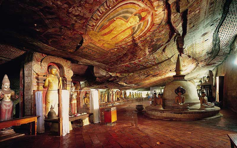 Visit to Dambulla Cave Temple