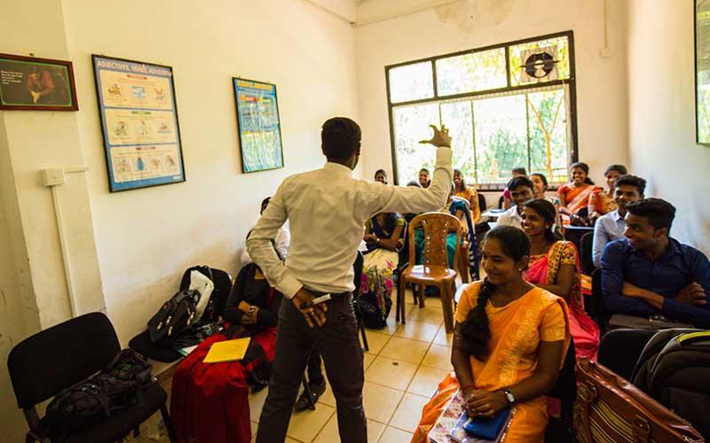 Visit an inspiring skills development school in sri lanka