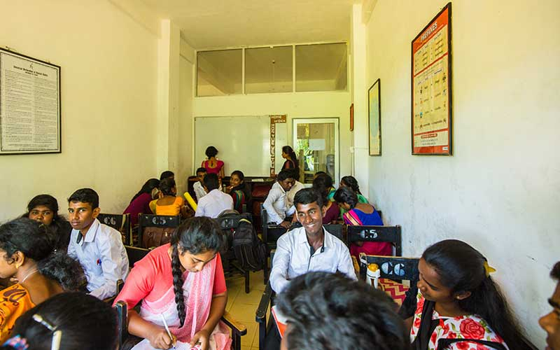 Visit an inspiring skills development school in sri lanka