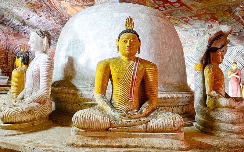 Explore  Dambulla Cave Temple | Golden Temple of Dambulla