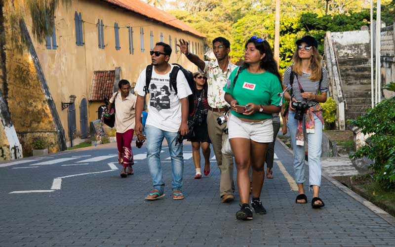 Guided walk around Galle Fort