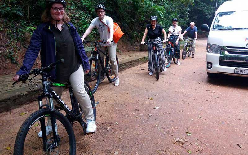 Half Day Cycling in Kandy City, Kandy city cycling, kandy cycling