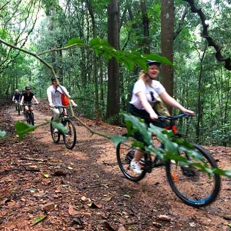 Half Day Cycling in Kandy City, Kandy city cycling, kandy cycling