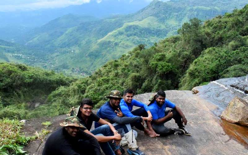 trekking in Knuckles mountain range