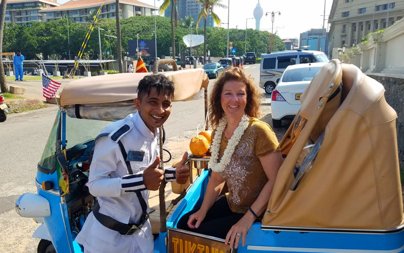 Colombo City Tour by tuk tuk