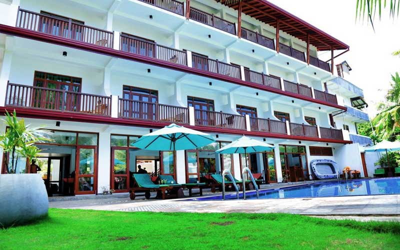 Rockside Beach Resort in Bentota | Bentota Hotels